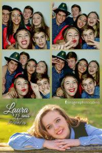 15 anos da Laura -Tomte- Fotográfico cabine de fotos