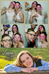 15 anos da Laura -Totem- Fotográfico cabine de fotos